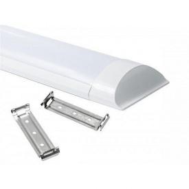 Светодиодный LED светильник линейный накладной Lira 20Вт ЕСО 6400К 1760Lm 600x75mm
