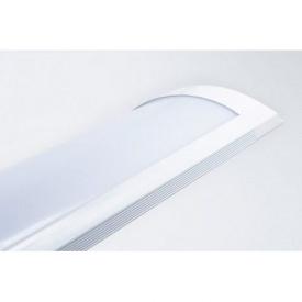 Светодиодный LED светильник линейный накладной Lira ECO 40Вт 6400К 3520Lm 1200x75mm