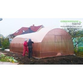 Теплиця Люкс 3х6х2м з полікарбонатом GreenHouse Nano 10 мм