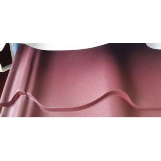 Металлочерепица Монтеррей 0.4 мм матовая красная