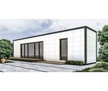 Будівництво житлового будинку 12,23х2,55 м 30 м2