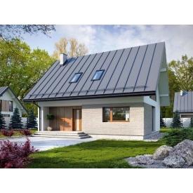 Строительство стильного жилого будину 109 м2 комплектация под ключ