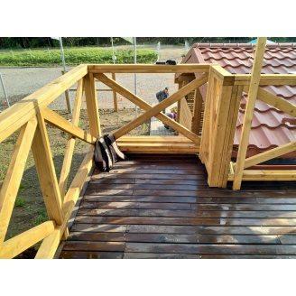 Дерев'яні тераси фабричне виготовлення і швидкий монтаж