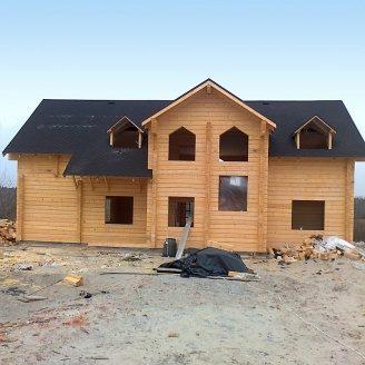 Будівництво будинків з профільованого бруса