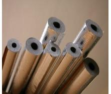 Утеплювач для труб Tubex в алюмінієвій фользі 28(15) мм