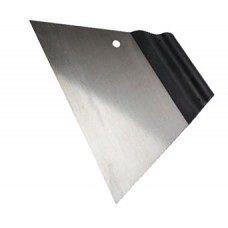 Шпатель сталевий гладкий Kubala 180мм