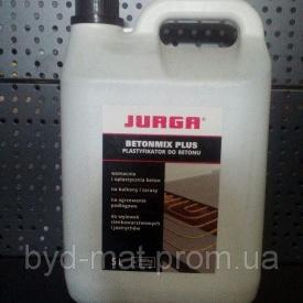 Пластификатор для бетона JURGA beronmix plus канистра 5 л