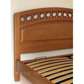 Кровать полуторная Екатерина массив 200 см
