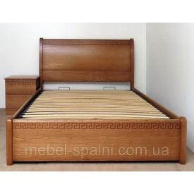 Ліжко односпальне Афродіта масив 200 см
