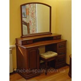Туалетний стіл-трюмо з дзеркалом Князь з ясена