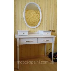 Туалетний стіл-трюмо з дзеркалом Принц з ясена