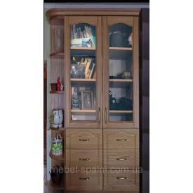 Шкаф витрина в гостиную Дуэт 2