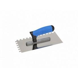 Терка Kubala нержавеющая 130x270 мм зубчатая 4x4 ручка G-11