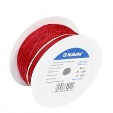 Шнурок для каменщиков Kubala 1,0 мм 100 м - красный