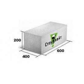 Газоблок Стоунлайт 400x200x600 мм Д500