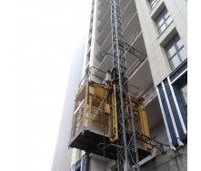 Щогловий підйомник HEK Alimak PLA1253 вантаж 1200 кг висота 54 м
