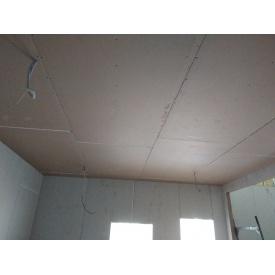 Монтаж гипсокартонного потолка прямого