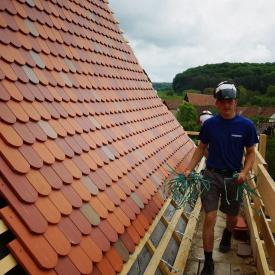 Керамическая плитка производителя Erlus коричневая