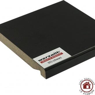 Подоконник Werzalit Compact 200 мм Чёрный (055)