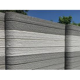 Панель Крафтового бетонного забора 2100х200