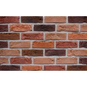 Фасадна плитка Loft Brick Бостон 30 Червоно-коричневий 210x65 мм