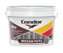 Декоративна силіконова штукатурка мозаїка 1,0 мм 1,5 мм Condor Mozaik Putz