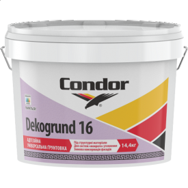 Адгезионная универсальная грунтовка Condor Dekogrund 16 10л