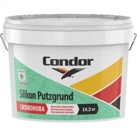 Универсальная силиконовая адгезионная кварцевая грунтовка Condor Silikon Putzgrund 10л