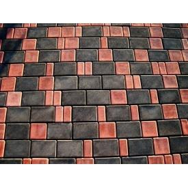 Плитка тротуарная вибролитая Zabor-Perfecto Старый город 3 элемента 40 мм