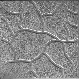 Плитка тротуарная Zabor-Perfecto Песчаник 300х300х30 мм серая