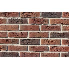 Плитка ручної роботи Loft Brick Бельгійський №8 NF 240х15х71 мм чорна