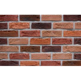 Фасадная плитка Loft Brick Бостон 30 Красно-коричневый 210x65 мм