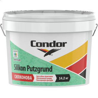 Універсальна силіконова адгезійна кварцова ґрунтовка Condor Silikon Putzgrund