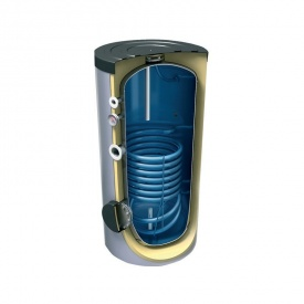 Бойлер гарячої води непрямого нагріву Tesy підлоговий 1 теплообмінник 300 л 1,45 м2 (EV12S 300 65 F41 TP)