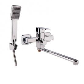Смеситель в ванную с душем картридж 35 мм GF (CRM)/S- 10-005AN
