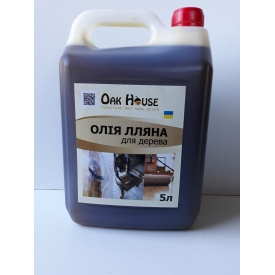 Олія для дерева льняна 5 л Oak House