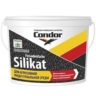 Краска для агрессивной индустриальной среды Condor Fassadenfarbе-Silikat 10л