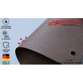 Тканина для рулонних штор Ауріс металік каштан (000258)