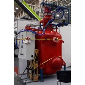 Пневмокамерний насос НП-40 монжус для цементу і порошкових матеріалів