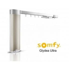 Электрокарниз тихий в зборі 3.5 м Somfy GLYDEA ULTRA 60e RTS / WTMIC / DCT (281549)