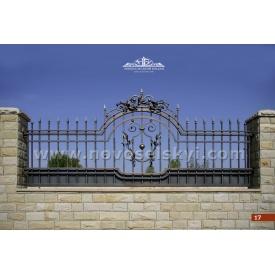 Кованая ограда прямая А2117