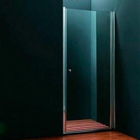 Душевые двери одноэлементные 800х1950 (QP10 800 chrome clear)