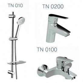 Набір змішувачів для ванни TWIN (TN0200+TN0100+TN010)