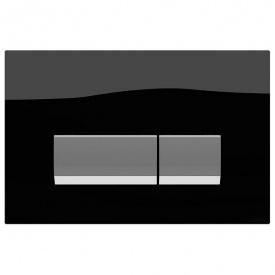 Панель смыва Integro Black Glass
