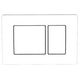 Панель змиву Kvadro White
