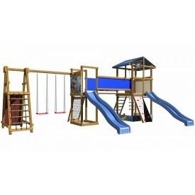 Детская площадка SportBaby-12 3150х4000х8700 мм