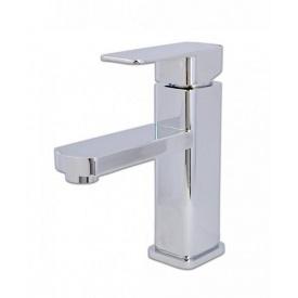 Змішувач для умивальника квадратний хром 35 мм (1*10) (LEB1-A123-Zegor)