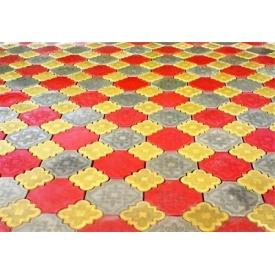 Плитка тротуарная вибролитая Zabor-Perfecto Гжель 40 мм