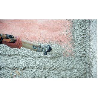 Торкретирование бетонной поверхности