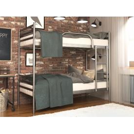 Двоярусне металеве ліжко FLY DUO